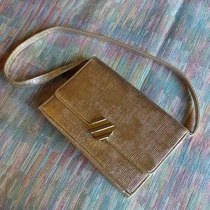 Vintage gold HL small evening purse