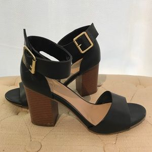 Black Block Heeled Heels