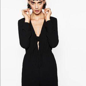 Zara Knot Neckline Jumpsuit