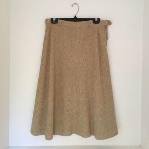 Vintage Evan-Picone Pure Wool Skirt, Size 4/6