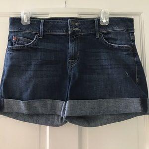 Hudson Rolled Demin Shorts