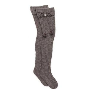 Brand new! UGG Sparkle Cable Knit Sock