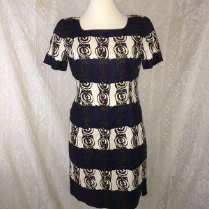 Jones New York lined linen dress size 10 petite