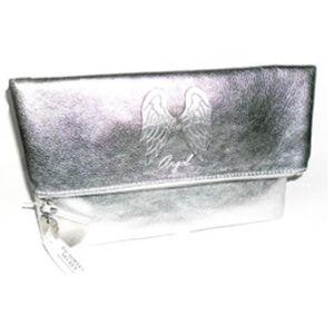 Victoria's Secret Anniversary Silver Fold Over