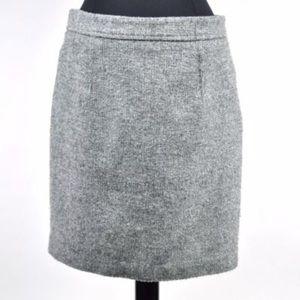 Ann Taylor Loft Charcoal Pencil Skirt Size 6