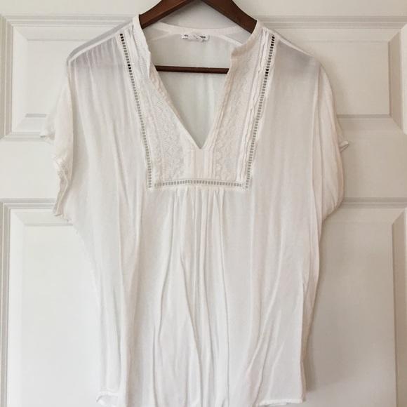6ffbc003623387 Club Monaco Tops - Club Monaco perfect white shirt size m
