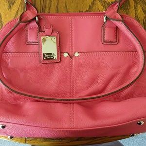 Tignanello Pink Satchel