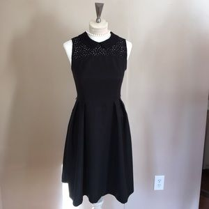 Tommy Hilfiger black dress with lace collar ❤️