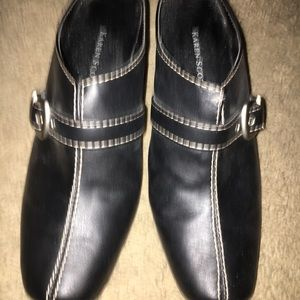 Karen Scott mule shoes