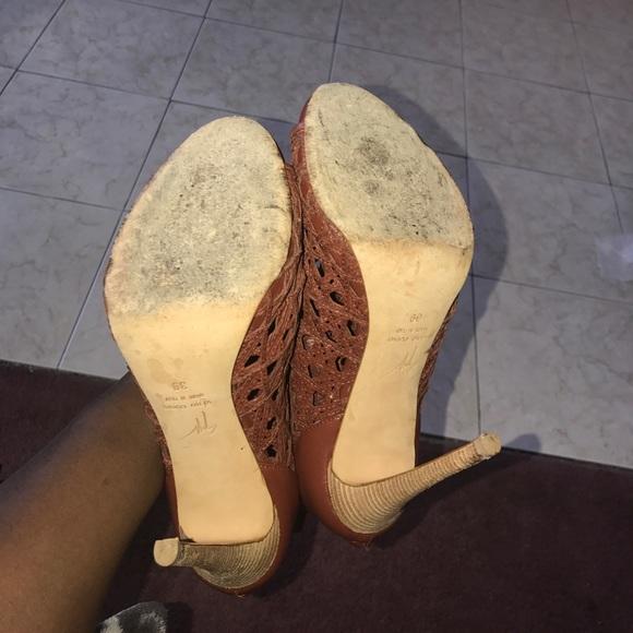 Giuseppe Zanotti Shoes - AUTHENTIC Giuseppe Zanotti Design Ankle Heels