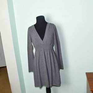 Beautiful Grey Lightweight Long Sleeve Dress