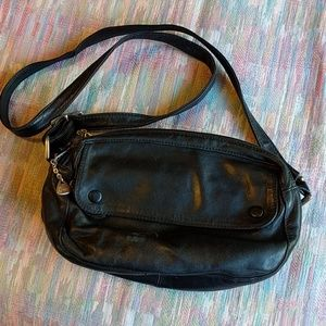 Vintage 1980s Brio leather crossbody purse