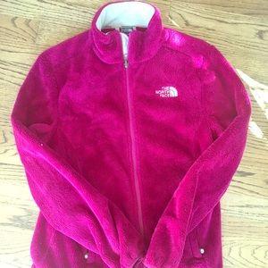Pink Northface jacket
