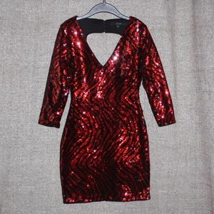 NEW! GUESS SEQUIN COCKTAIL DRESS!