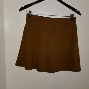 Zara circle skirt camel color