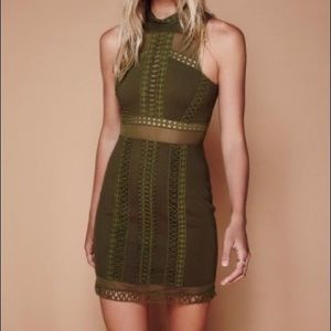 Free People Sky Scraper Mini olive green