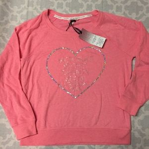 NWT VS Fashion Show Bling Sweatshirt
