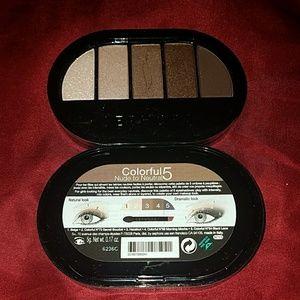 Bogo Sephora 5 pc shadow pakette nude