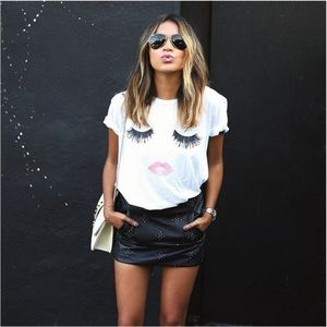 Lash and lipstick tshirt
