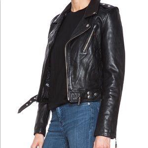 ⚡️SALE⚡️BLK DNM Iconic leather jacket