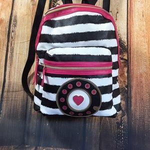 Betsey Johnson Telephone Backpack Book Bag CALL ME