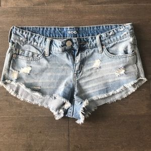 Urban outfitters low rise dolphin shorts!