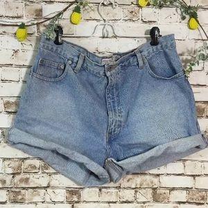 Vintage Abercrombie & Fitch Sz 10 hi rise shorts