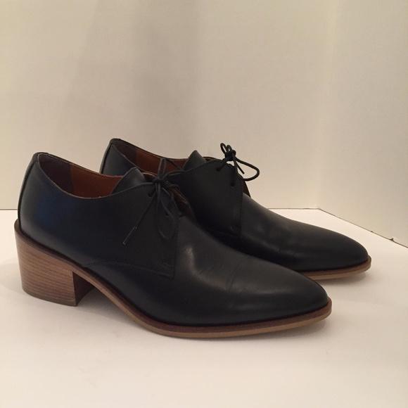 7cdace4b74b3 Everlane Shoes - WOMENS EVERLANE MODERN OXFORD HEELED BLACK SZ 9
