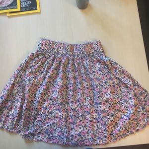 Funky floral skirt
