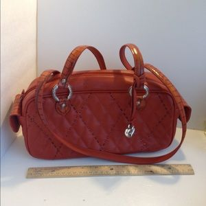 Brighton leather quilted purse