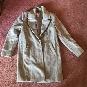 Forever 21 Gray wool coat