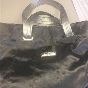 Henri bendel silver bag