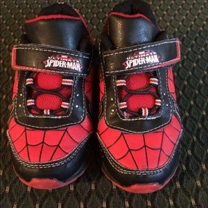 Light up Spider-Man sneakers