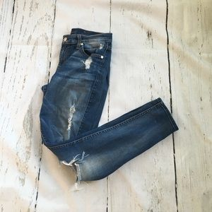 Seven for all Mankind skinny ankle jeans