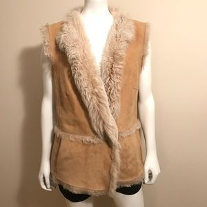 CLOSED Shearling Vest