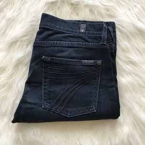 7 For All Mankind Dojo Straight Leg Jeans