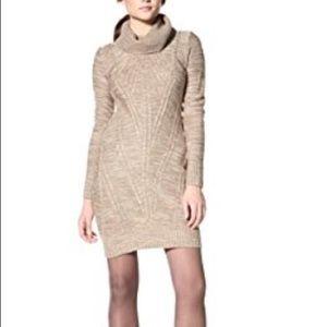 Jessica Simpson purple sweater dress