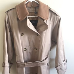 Authentic Burberry London lined trench coat