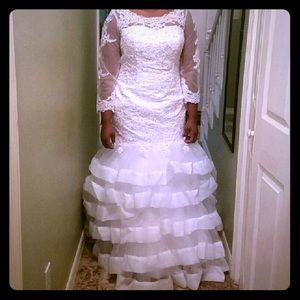 Handmade Wedding Dress/ NWOT