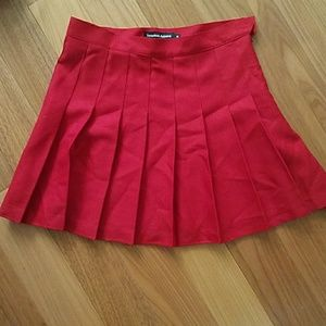 NWT American Apparel Red Tennis Skirt