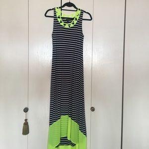 Lovposh hi low maxi dress