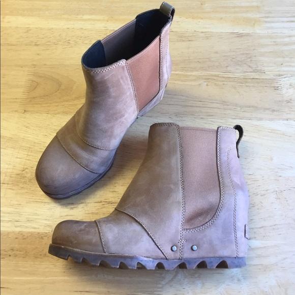 Sorel Shoes | Euc Sorel Lea Wedge Boot
