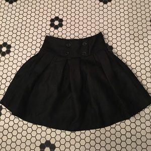 BCBG black skirt, size 0