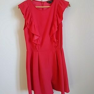Stylish romper. Coral color. NWT