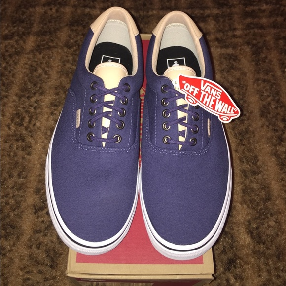 ec933812628f11 Vans Veggie Tan Era 59 Shoes - Crown Blue