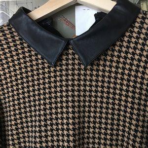 NWT Black and brown Midi Ralph lauren dress