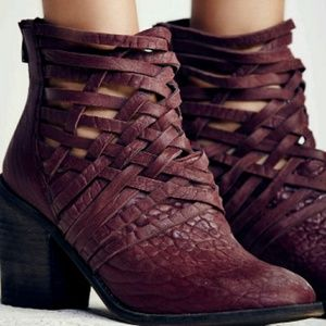NWOB Free People Carerra Heel Boot