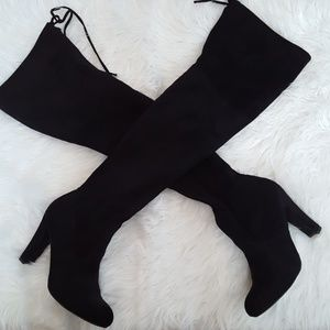 Charlotte Russe over the knee Boots size 7