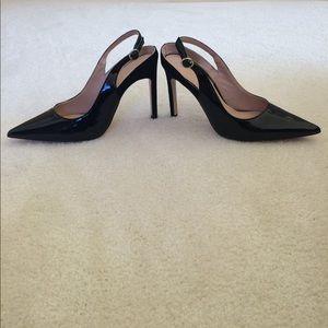 Zara slingback heels.