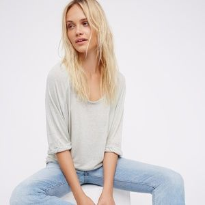 Free People Moonlight Soft Oversized Tee